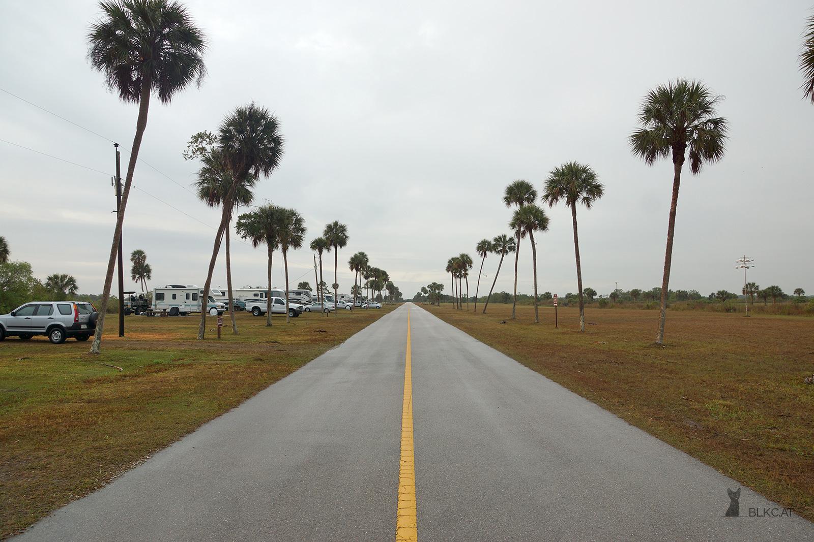Everglades-City-weg