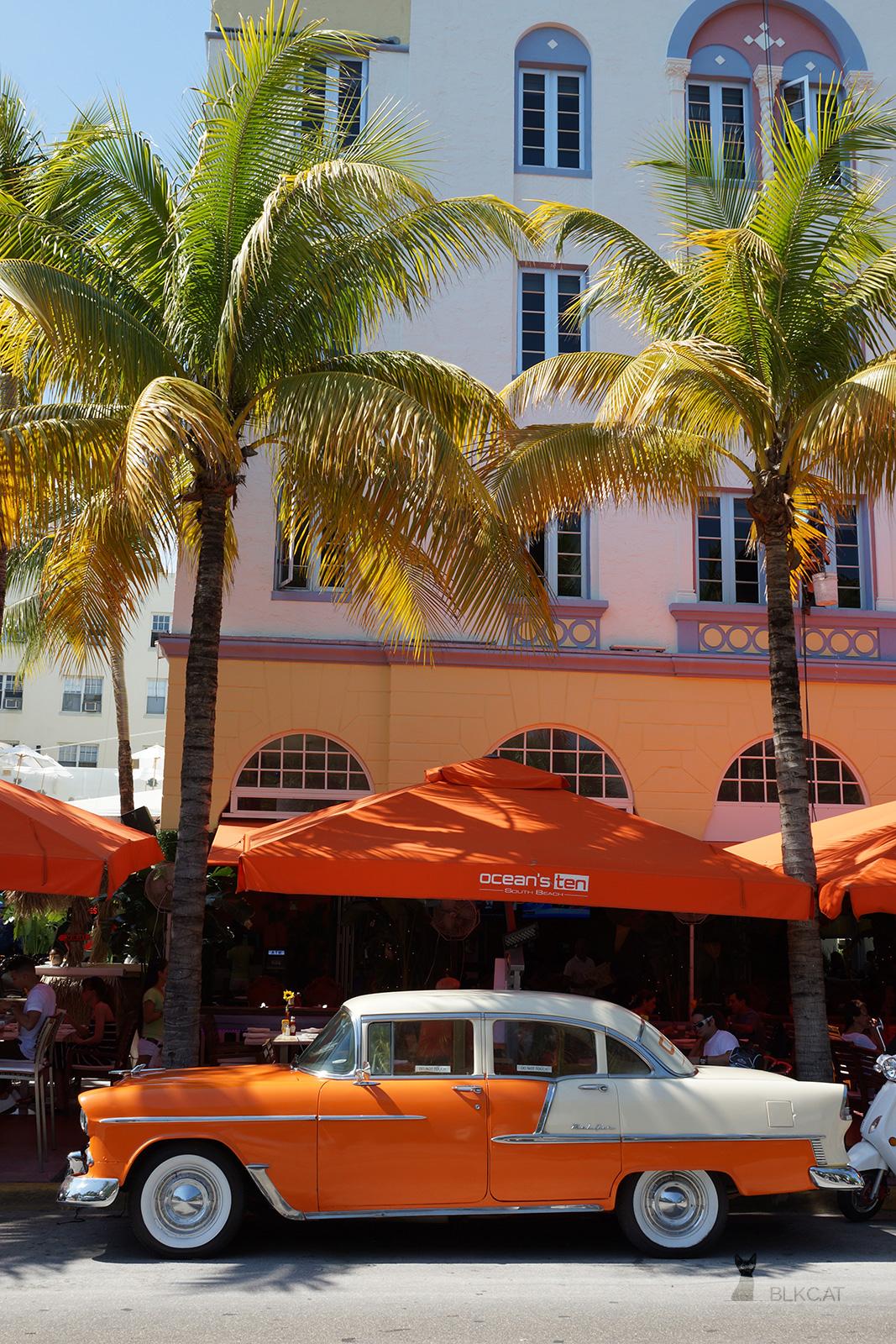 Miami-Beach-Oldtimer-orange